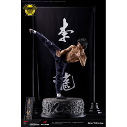 Bruce Lee Estatua 1/4 80th...