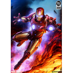 Marvel Litografia Iron Man...