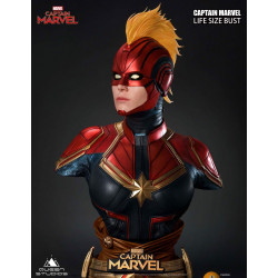 Captain Marvel Busto 1/1...